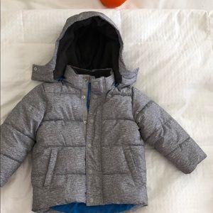 Gap little boy puffer jacket